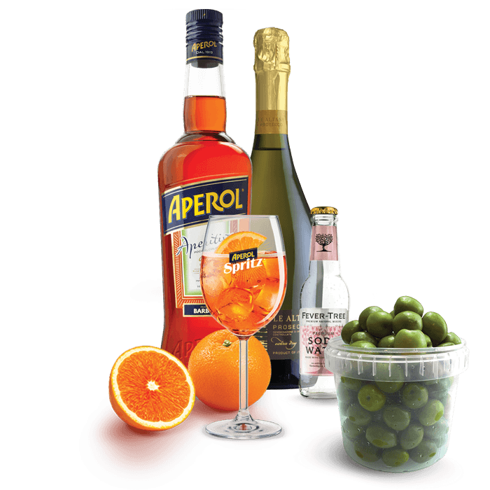 Cocktail Kit   Aperol Spritz | Diforti | Italian Delicatessen