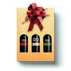 Premium Flavoured Extra Virgin Olive Oils trio
