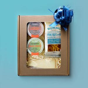 gluten free gift box pasta pesto sauce