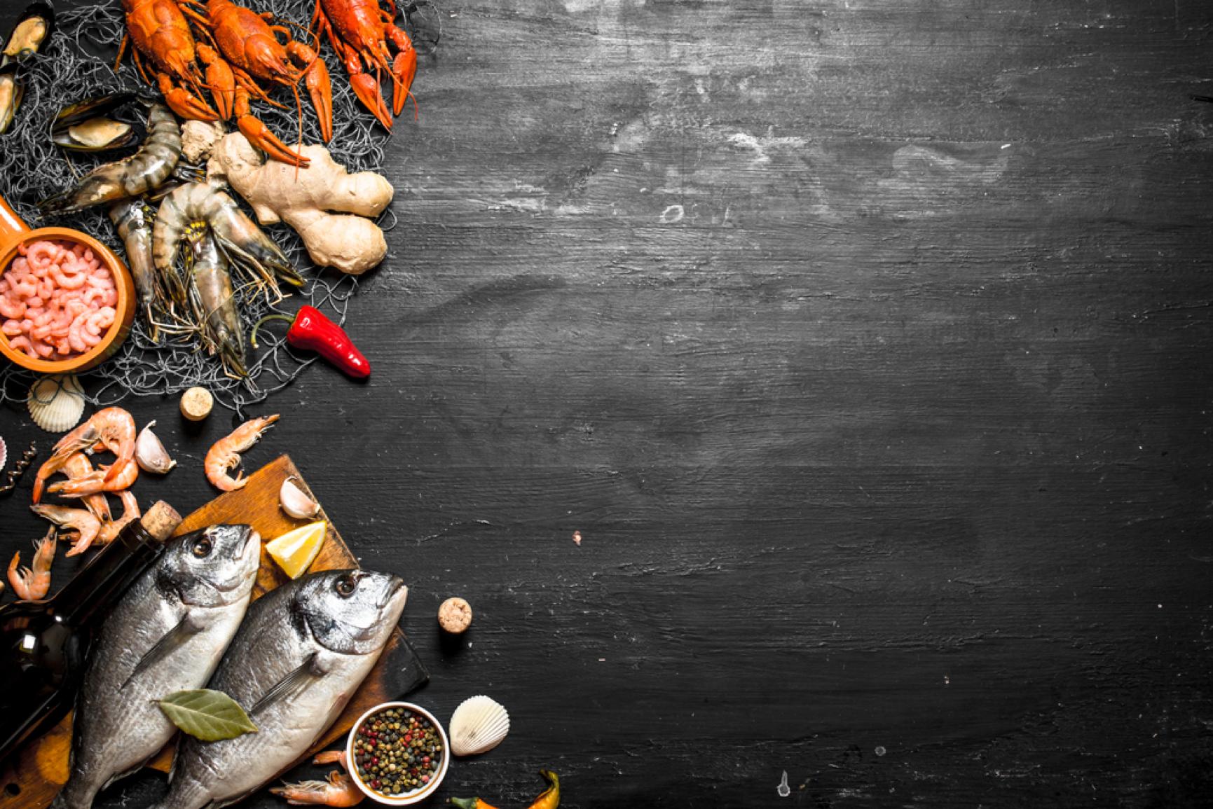 Diforti fresh fish and Italian produce.