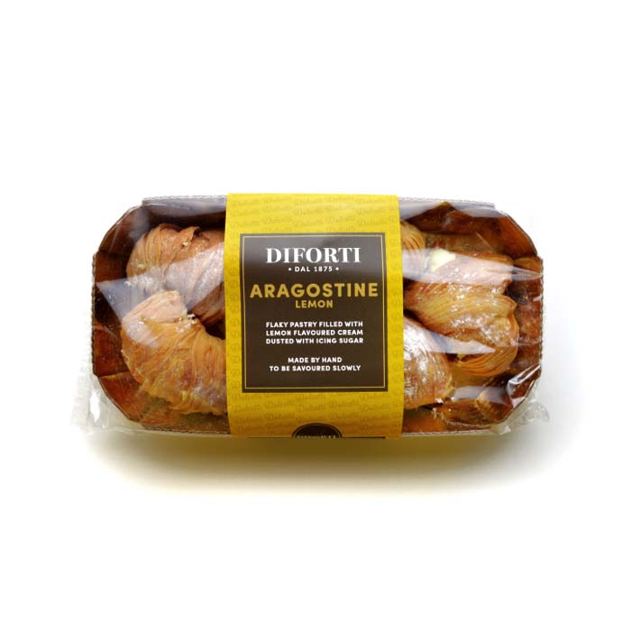 Aragostine Filled With Lemon Cream 150g
