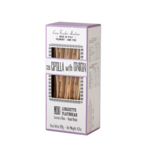 Linguette Breadsticks With Onions 120g