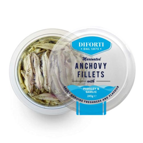 Anchovy Fillets-245g-Diforti