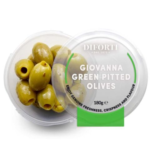 Giovanna-Green-Pitted-Olives-180g-Diforti