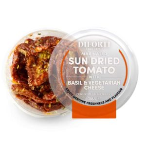 Sun-Dried Tomato With Basil & Cheese