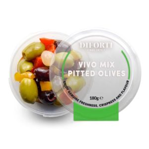 Vivo Mix Marinated green & black pitted olives