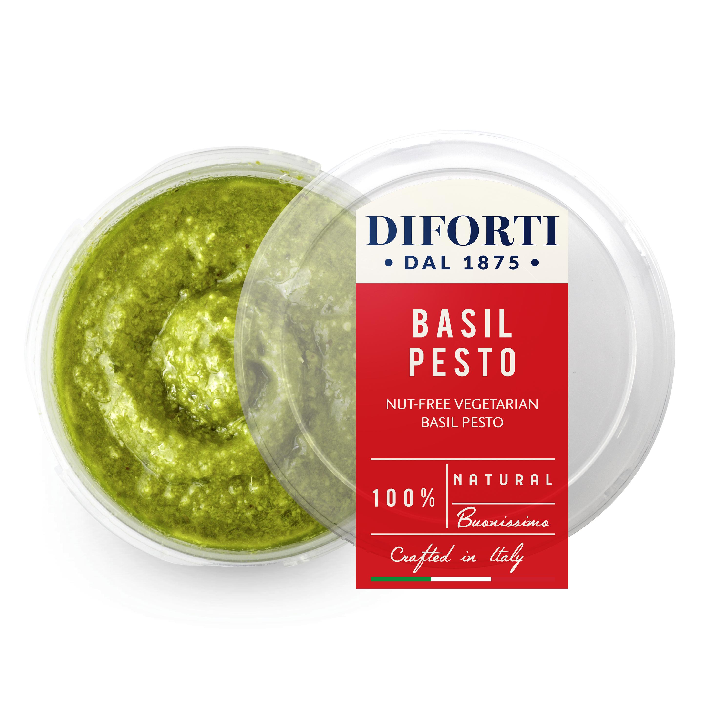 Nut Free Vegetarian Basil Pesto | Diforti | Italian Food Online