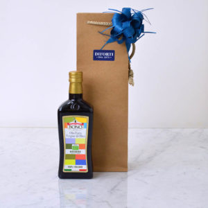 Sicilian Organic extra virgin Olive oil gift bag