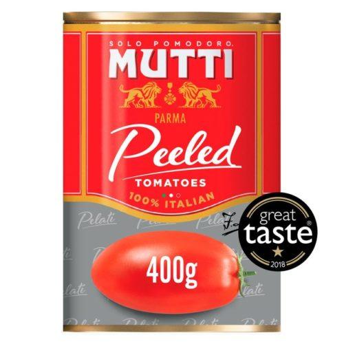peelled tomato mutti